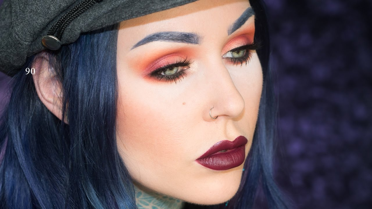 1990's Fall Grunge Makeup Tutorial | KristenLeanneStyle ...