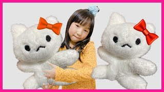 The Three Little Kittens Nursery Rhyme song for kids by Yume & Rena