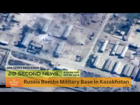 Russia Bombs Military Base in Kazakhstan - Breaking Military News Today