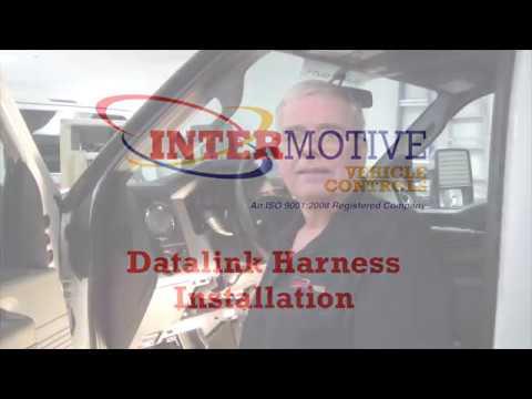 Datalink Harness Installation - YouTube