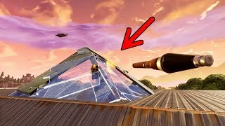 How To Shoot Through Pyramids | Fortnite Glitch Season 7