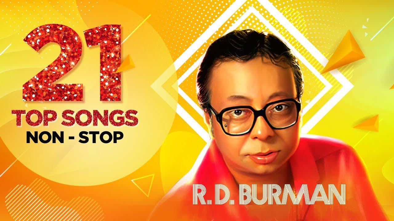 Download R.D. Burman | 21 Top Songs Non - Stop | Piya Tu Ab To Aaja |  Dum Maro Dum | Are Jane Kaise Kab