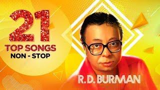 Download R.D. Burman   21 Top Songs Non - Stop   Piya Tu Ab To Aaja    Dum Maro Dum   Are Jane Kaise Kab
