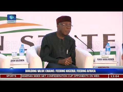 Building Value Chains Aimed At Feeding Nigeria,Africa P.t3  Ogun Investors'Forum 