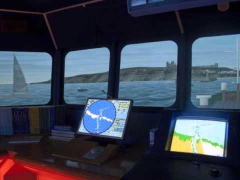Bridge Simulation Panorama