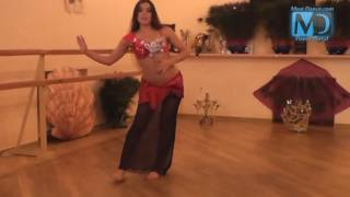 Танец живота  Видео урок №3  от Аллы   Кушнир