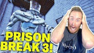 Escaping the Massive Dungeon Prison 3: Cursed Temple Puzzle Maze in Fortnite Creative Mode!