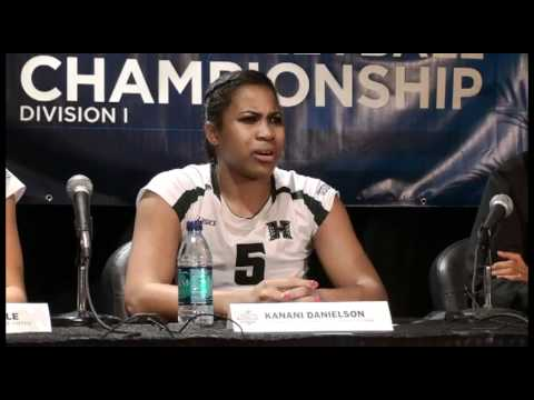 University of Hawaii NCAA Regional Semifinal Post Game Press Conference 12-9-11