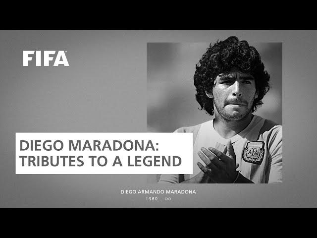 Diego Maradona | Tributes To A Legend