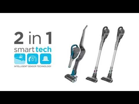 BLACK+DECKER™ Cordless Vacuum Cleaners With smart tech Sensors - A Smarter Way of Cleaning