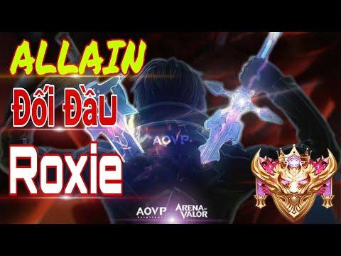 Allain mùa 15 || Cách đối đầu Solo lane đối đầu với Roxie