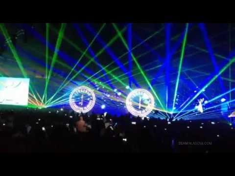 Sandstorm Rave Laser Show