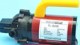 High Pressure Pump 120W / Pompa Cuci Mobil 120W, 180 Psi, 15L per Min, 13 Bar