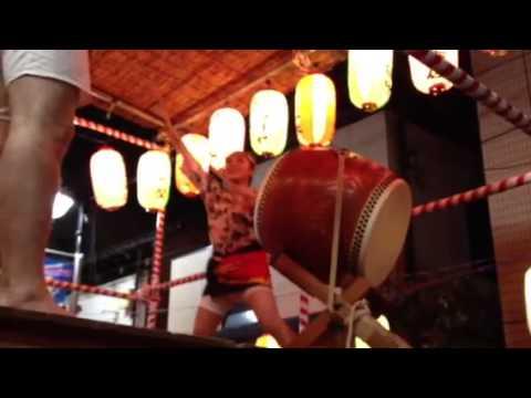 ◆助六太鼓◆ 松田文【花笠音頭】千住旭町商店街盆踊り