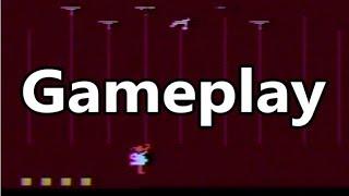 Dishaster Atari 2600 Gameplay