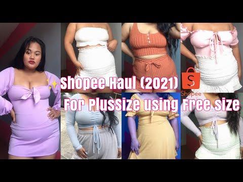 SHOPEE HAUL (2021) For PLUS SIZE using Free Size Super Affordable ✨ | Shaira Molera