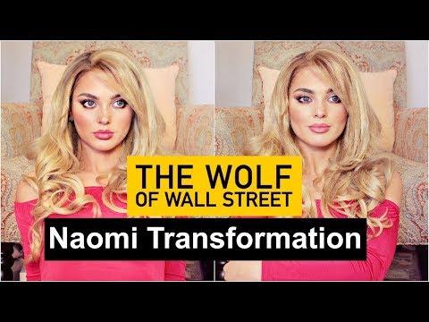 The Wolf Of Wall Street   Margot Robbie As Naomi TRANSFORMATION Makeup Tutorial