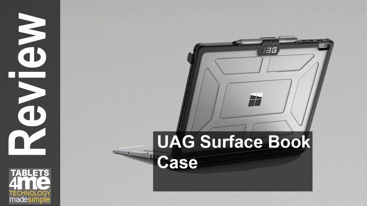 buy online 05801 72fb9 UAG Surface Book Feather-Light Composite [ICE] Military Drop Tested Laptop  Case
