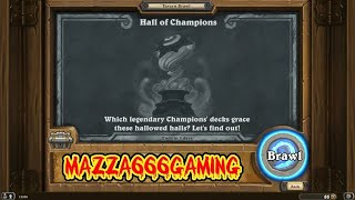 Hearthstone - 'Hall Of Champions' Tavern Brawl - Ostkaka Mage Vs Pavel Mage