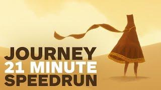Journey: Incredible 21 Minute Speedrun