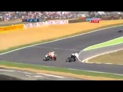 BSB SuperStock 1000, Brands Hatch Crash