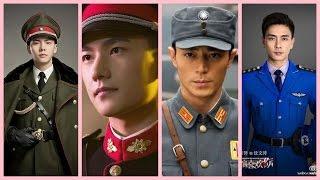 10 nam thần Hoa ngữ trong quân phục,Ai đẹp hơn?