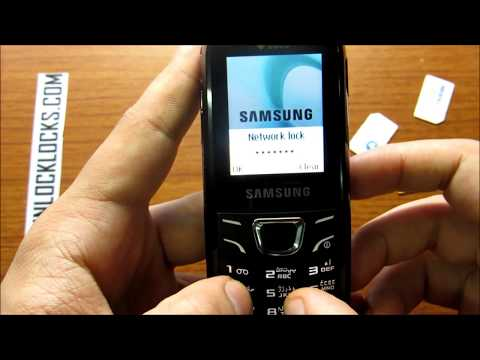 Learn How To Unlock Samsung E1225 By Unlock Code From UnlockLocks.COM