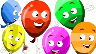 learn colors with balloons | the balloon song | original kids rhymes | colors song | kids tv