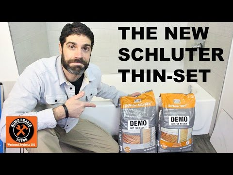 The NEW Schluter Thin-Set (Quick Tips)