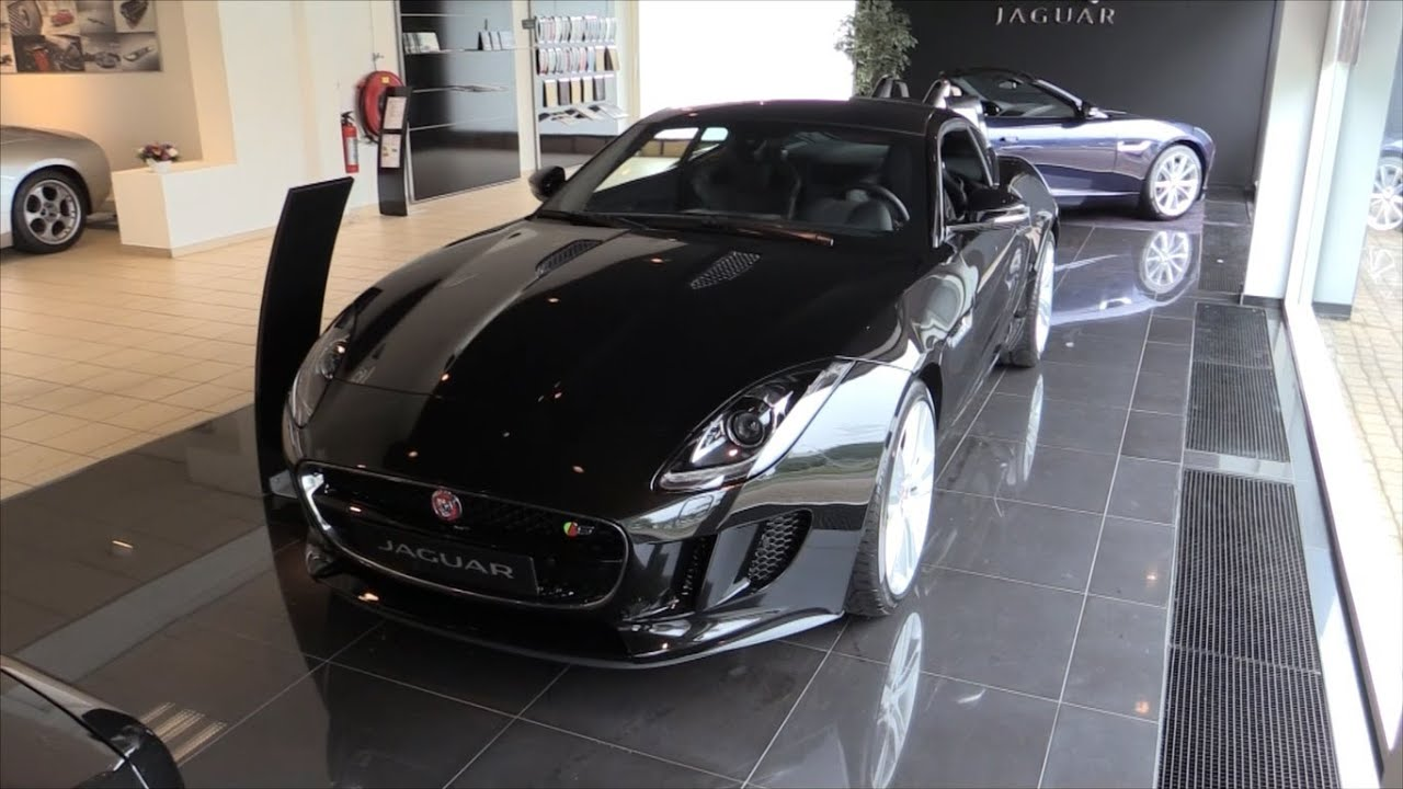 Jaguar f type coupe 2015 interior
