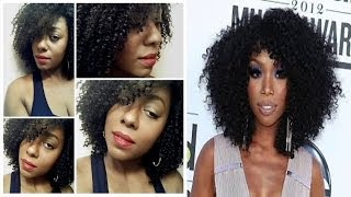 Brandi Inspired Kinky Curly Wig (DIVASWIGS) (Cutting & Styling)