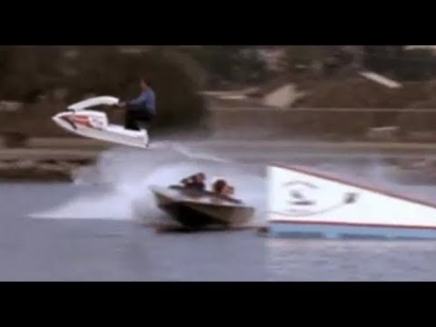 Vintage Jet Ski on television show Hart to Hart in 1981
