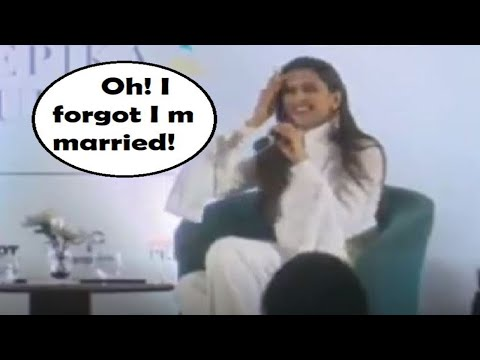 """Deepika Padukone had to be reminded that she is married, says """"Oh! I forgot"""" Mp3"""
