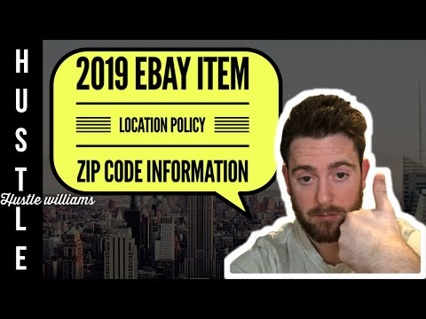 2019 EBay Item Location Policy Zip Code Information & Solutions