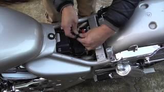 簡単!バイクにUSB電源を装着!〜バイクに乗るときもiPhoneと一緒っ!の巻〜