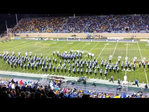 Pride of the Dakotas Marching Band Half-time Show