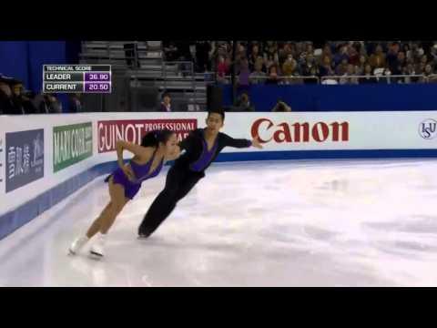2015 World Figure Skating Championships - Wenjing SUI / Cong HAN (SP)