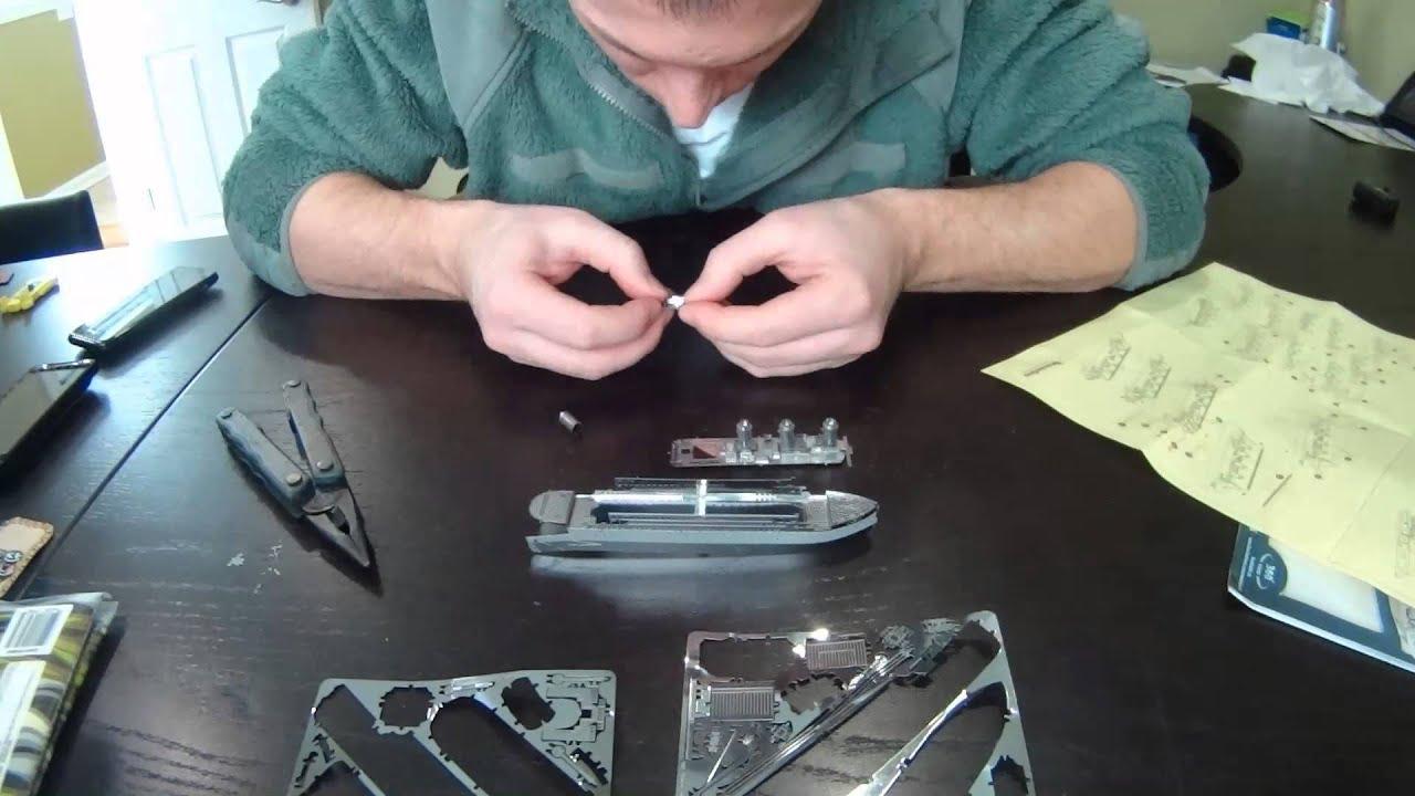 Laser Cut Metal Signs >> Metal Earth Titanic - YouTube