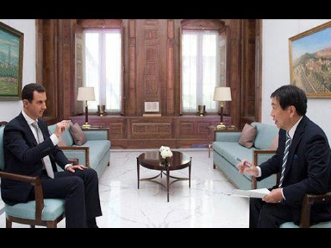 Assad informs Japan, the Truth about Syria (1-19-17 Rare interview) in English