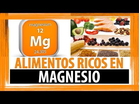 ALIMENTOS RICOS EN MAGNESIO | ALIMENTOS QUE CONTIENEN MAGNESIO