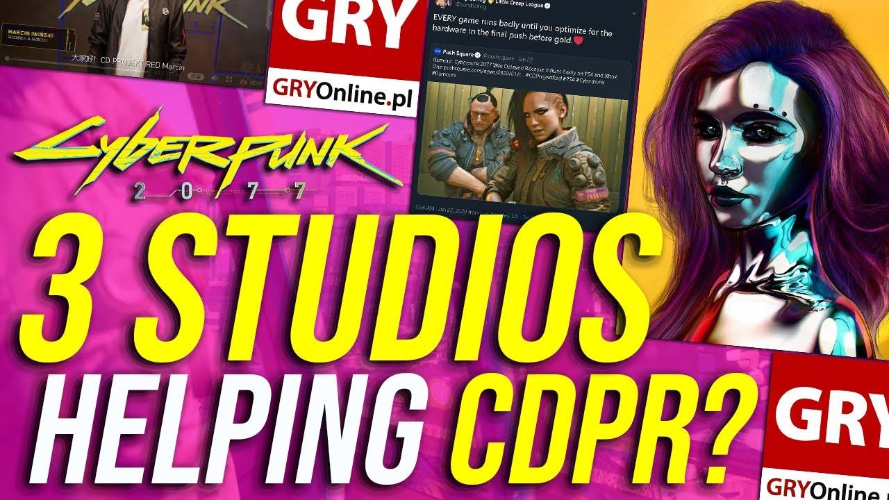 Cyberpunk 2077 News – 3 Studios Helping With Cyberpunk 2077 Production, QA, Optimization & Porting! thumbnail