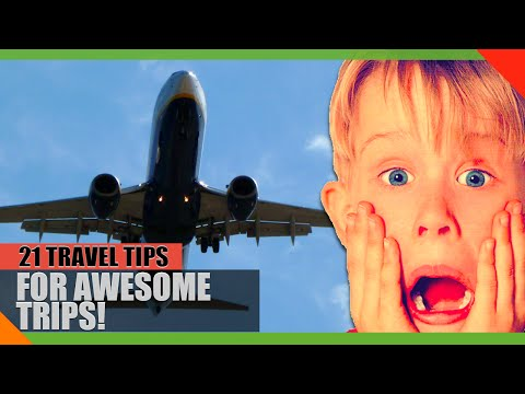 Cheap Flights, Packing Lists, & Suitcase Hacks: 21 ESSENTIAL Travel Tips!