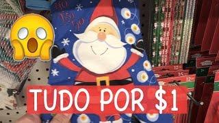 LOJA TUDO POR $1 - DOLLAR TREE TOUR