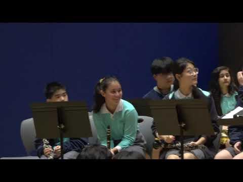 Music Performance: Tai Po Shuffle - By ASHK Grade 8 & 9 Students, At ASHK 2019 Christmas Assembly