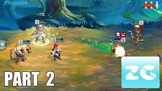dragonstone guilds heroes android ios walkthrough part 2 gameplay