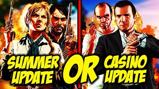 Could We See The RDR2 Online Summer Update Before The GTA Casino Update?
