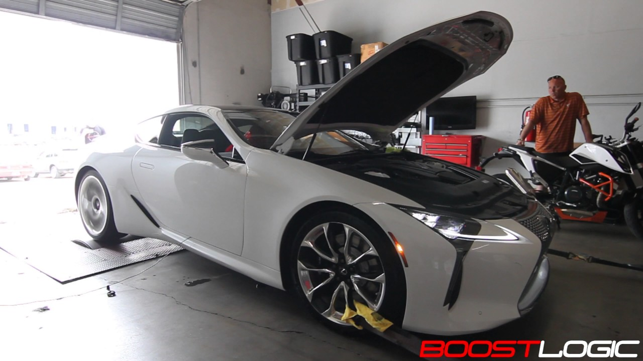 Boost Logic Lexus Lc 500 Dyno Results Youtube