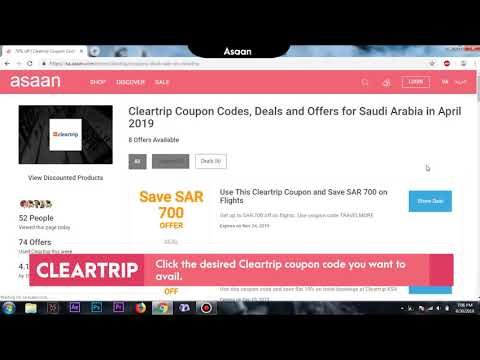 avail-instant-20%-discount-by-using-cleartrip-coupon-codes-at-asaan