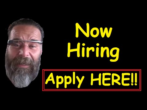 Now Hiring ~ YouTube Car Job ~ Apply Here Employment UPDATE