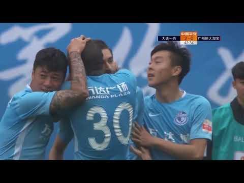 2018 CHA CSL   Round 9   Dalian YiFang vs Guangzhou Evergrande Taobao FC